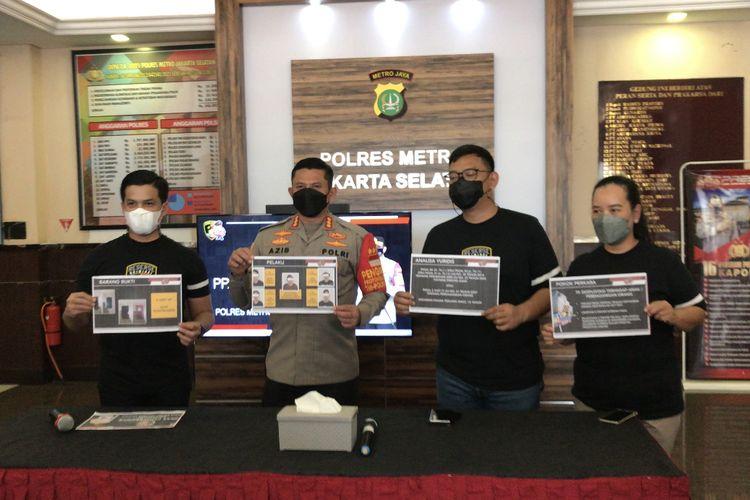 Polres Metro Jakarta Selatan kembali membongkar kasus eksploitasi anak di bawah umur di Apartemen Kalibata City, Pancoran.