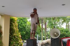 Demo di Kantor Pemkot Tangerang, Warga Benda Korban Penggusuran Tol JORR II Minta Bertemu Wali Kota