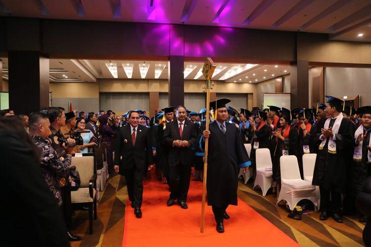 Politeknik Pariwisata (Poltekpar) Medan mewisuda sebanyak 363 orang mahasiswa terdiri dari 37 orang lulusan Diploma IV dan 326 orang lulusan Diploma III pada Kamis, 18 Juli 2019.