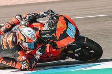 Hasil Moto2 GP Valencia, Jorge Martin Juara, Andi Gilang Kecelakaan