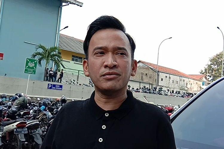Ruben Onsu di kawasan Tendean, Jakarta Selatan, Kamis (25/7/2019).