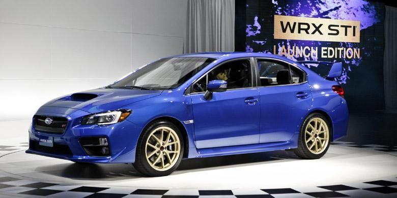 Subaru WRX STI 2015 akan melantai di IIMS 2014, September.