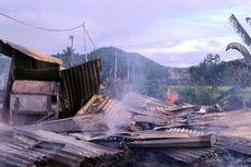 Gara-gara Puntung Rokok Tukang Pijat, Dua Rumah Terbakar