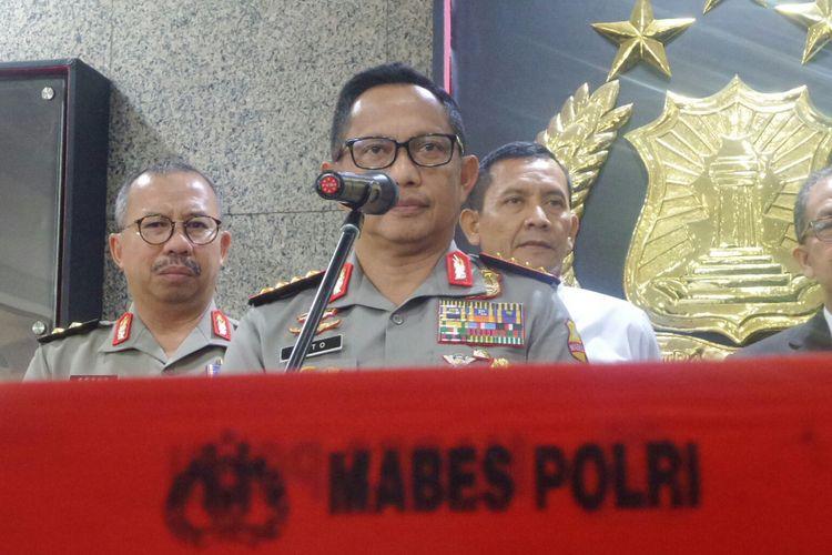 Kapolri Jenderal Pol Tito Karnavian.