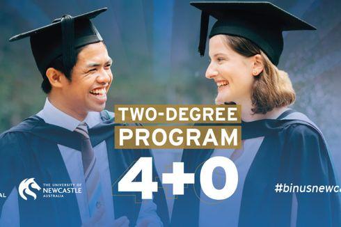 Kolaborasi dengan University of Newcastle, Binus Tawarkan Program Dua Gelar