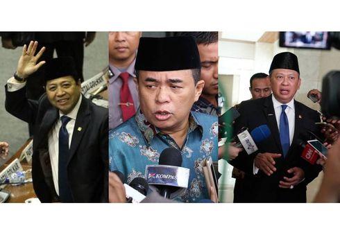 DPR 2014-2019, Perjalanan Lima Tahun dengan Tiga Ketua...