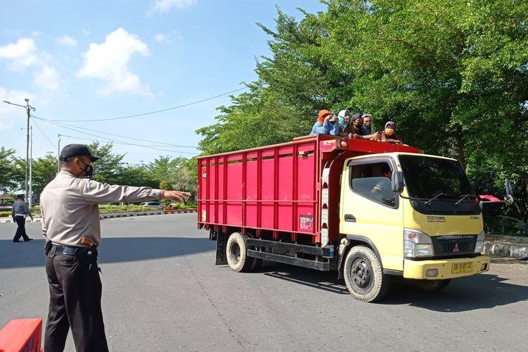 PPKM Darurat Mataram, pintu-pintu masuk menuju kota Mataram akan dilakukan penyekatan.