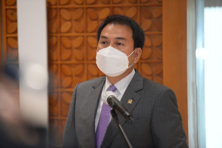 Wakil Ketua DPR RI M. Azis Syamsuddin.