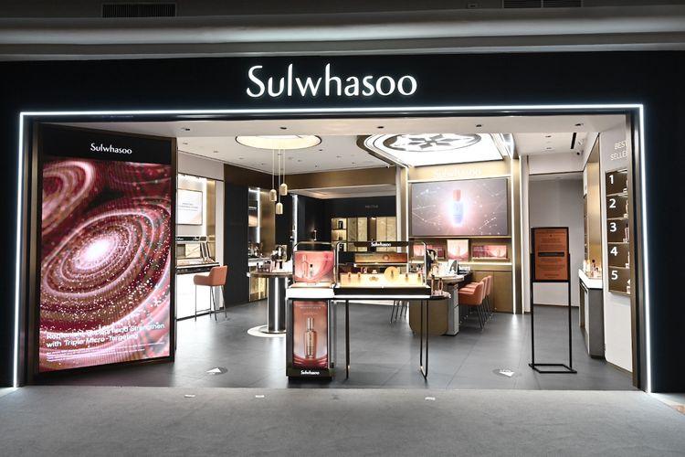 Butik perdana Sulwhasoo di Plaza Senayan Jakarta.