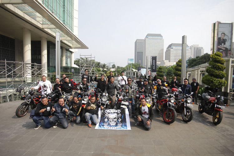 Komunitas penunggang Suzuki Bandit empat silinder deklarasikan berdirinya klub Banditos Indonesia