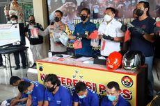Gasak Uang Rp 561 Juta di Semarang, 5 Perampok Bersenpi Ditangkap Polisi