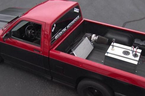 Lihat Modifikasi Turbo di Bak Mesin Pikap
