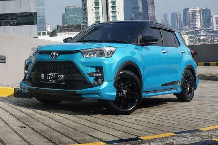 test drive Toyota Raize