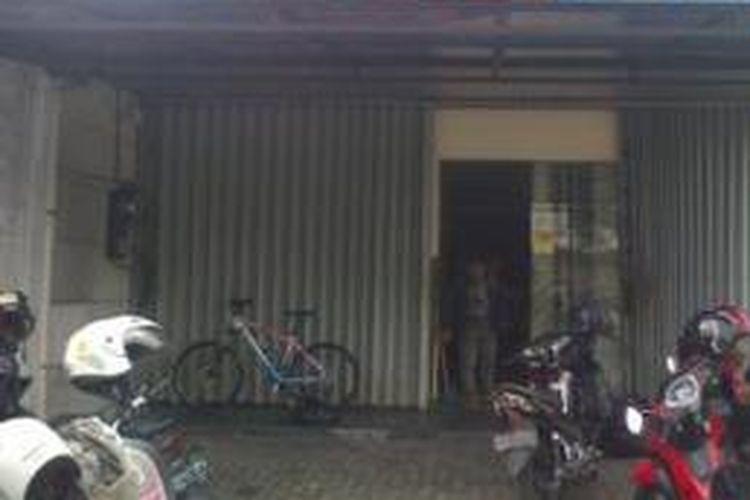Bank dirampok di Jaten, Karanganyar, 4/1/2014).