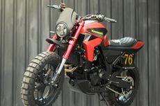 Custom Kawasaki Z250 Geser Aliran Jadi Tracker