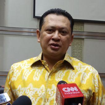 Ketua Komisi III DPR RI, Bambang Soesatyo berharapn Detasemen Khusus (Densus) Pemberantasan Tindak Pidana Korupsi (Tipikor) bisa terbentuk maksimal akhir ini dan langsung bertugas tahun depan. Jakarta, Selasa (19/9/2017).