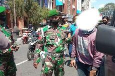 Tak Pakai Masker Saat Razia, Warga Ini Hendak Kabur Dikejar Tentara