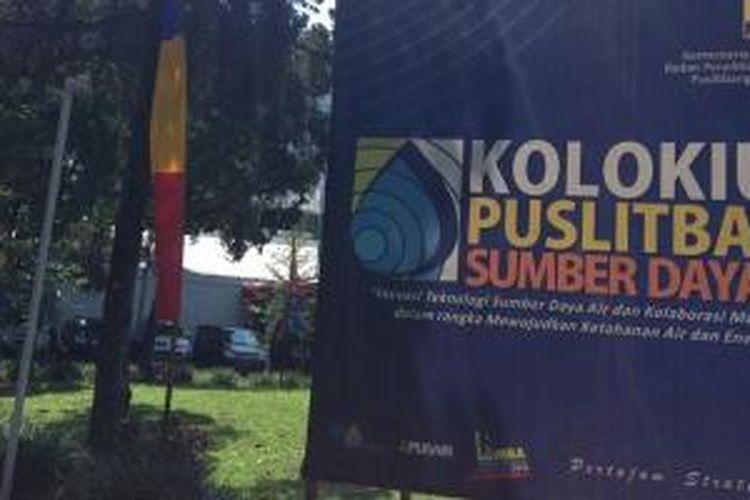 Pusat Penelitian dan Pengembangan Sumber Daya Air (Puslitbang SDA) Badan Penelitian dan Pengembangan (Balitbang) Kementerian Pekerjaan Umum sejak Rabu (21/5/2014) hingga Kamis (22/5/2014) mengadakan Kolokium bertajuk