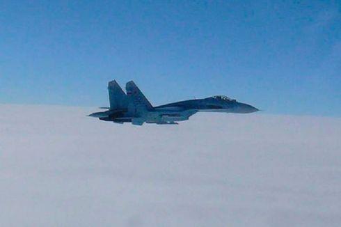Rusia Kirim Jet Tempur Sukhoi Su-27 Hadang Pesawat AS dan Swedia