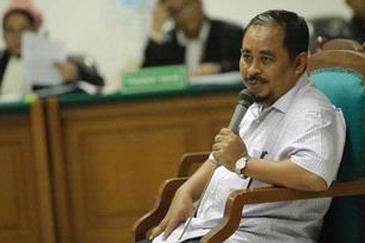 Mantan Presiden Partai Keadilan Sejahtera Luthfi Hasan Ishaaq/KOMPAS IMAGES/RODERICK ADRIAN MOZES
