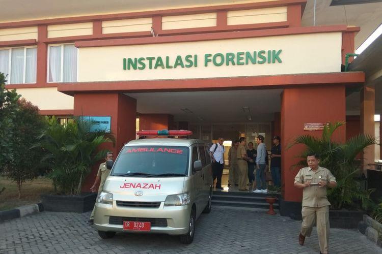 Jenazah korban gempa Lombok dipulangkan ke Malaysia, Selasa (31/7/2018).