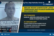 Polisi: 2 Petugas Terindikasi Bantu Pelarian Cai Changpan dari Lapas Tangerang