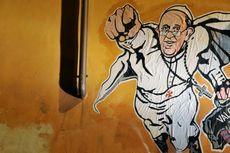 Di Tembok Kota Roma, Paus Fransiskus Jadi