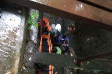 Tabrak Trotoar, Pengendara Motor Masuk Parit Sedalam 4 Meter di Lebak Bulus