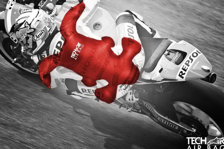 Wearpack pebalap MotoGP