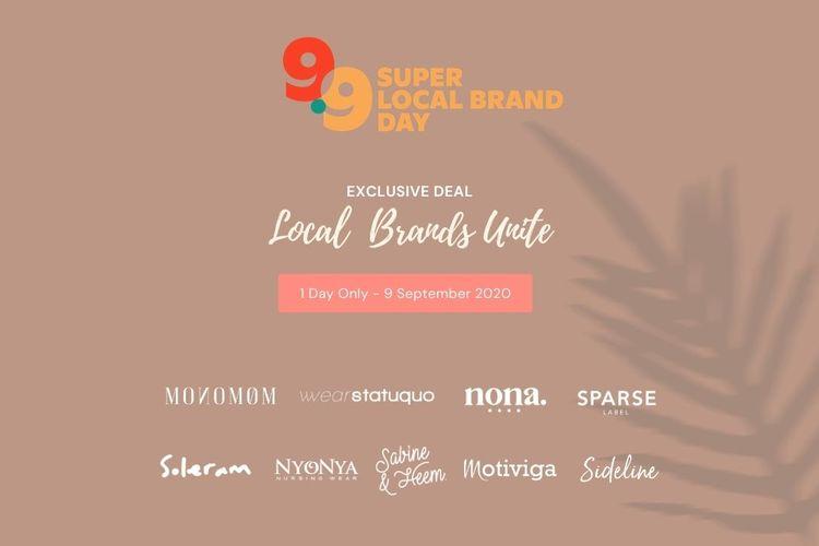 Hypefast menyelenggarakan kampanye 9.9 Super Local Brand Day untuk beberapa merek fesyen lokal.