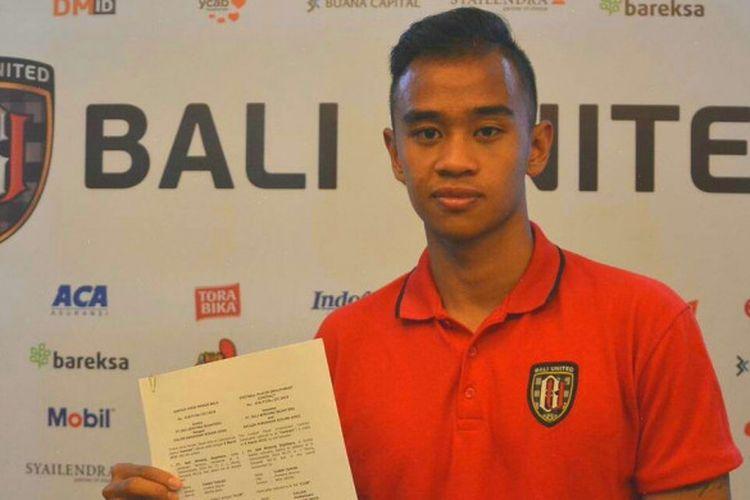 Dallen Doke Tandatangani Kontrak Dua Tahun Bersama Bali United.