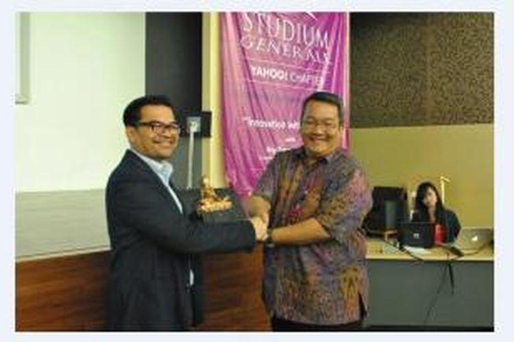 Salah satu momentum penting bagi Universitas Bina Nusantara (Binus University) tahun ini adalah terjalinnya kerjasama dengan Yahoo! Indonesia.