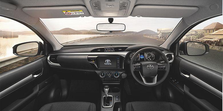 Suasana kabin Toyota Hilux Revo 2020