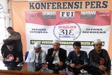 Massa Aksi 313 Mulai Berdatangan ke Masjid Istiqlal