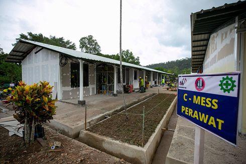 UPDATE: Progres Fasilitas Isolasi Pulau Galang 92 Persen, Tuntas 5 April