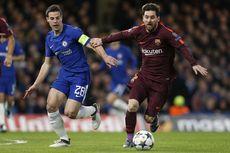 Hasil Liga Champions, Messi Akhiri Paceklik, Chelsea-Barcelona Imbang
