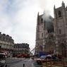 Katedral di Perancis Terbakar, Seorang Pria Diinterogasi