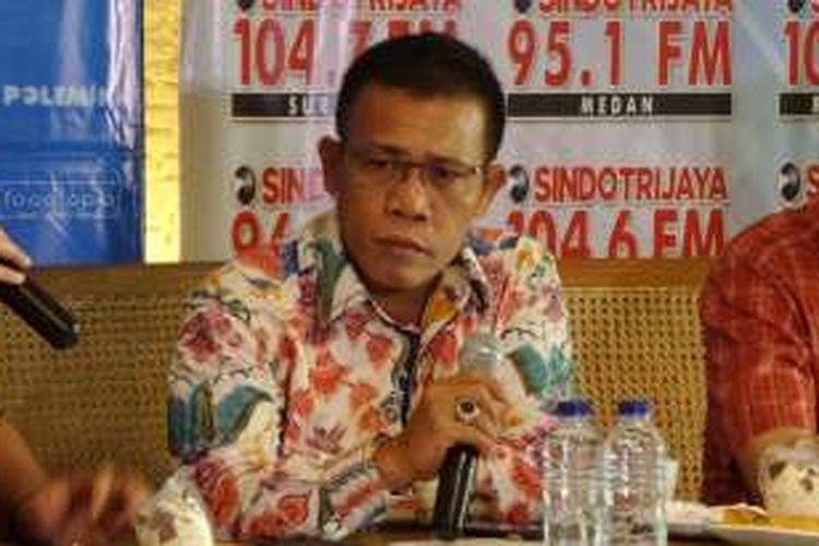Politisi Partai Demokrasi Indonesia Perjuangan Masinton Pasaribu