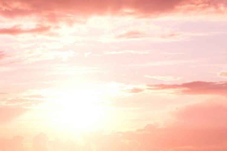 Ilustrasi gelombang panas