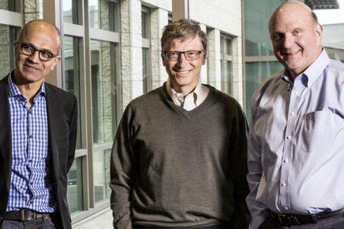 Bill Gates Tolak Nokia, CEO Microsoft Histeris