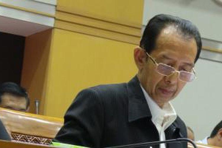 Wakil Ketua Komisi Pemberantasan Korupsi (KPK) Zulkarnain.