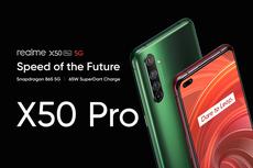 Realme X50 Pro 5G Resmi Meluncur, Ini Harganya