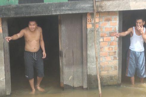 Banjir Rendam Ratusan Rumah di Prabumulih