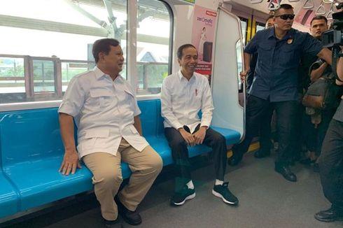 Alasan MRT Dipilih Jadi Lokasi Pertemuan Jokowi-Prabowo