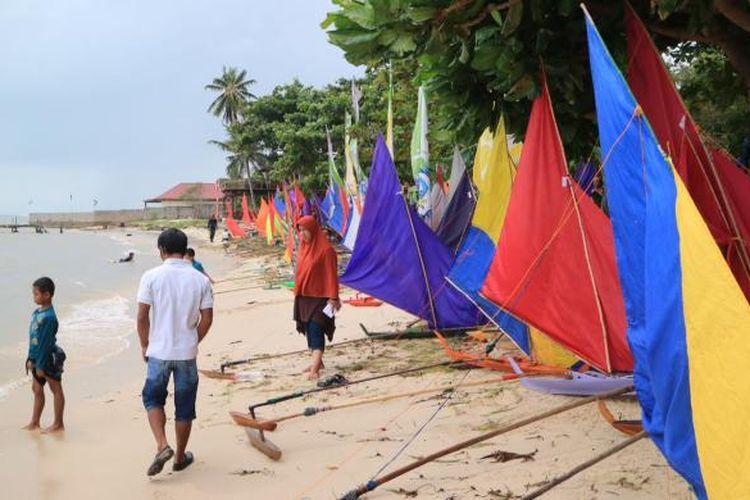 Perahu Jong Permainan Tradisional Berusia Ratusan Tahun Di Kepulauan Riau Halaman All Kompas Com