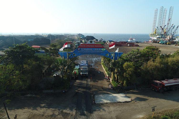 Gerbang Masuk PT Karya Citra Nusantara (KCN).