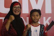 Tangis Haru Hafidzah Usai Menang dan Raih Super Tiket Audisi ke Kudus