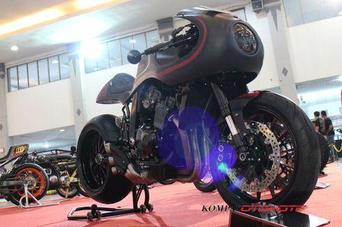 Suzuki GXS-R 400 Berjubah Cafe Race