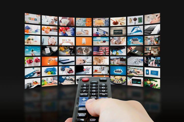 Ilustrasi TV kabel.