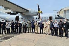 Dubes dan Atase Pertahanan RI Sambut Pesawat CN 235-220 yang Dibeli Senegal